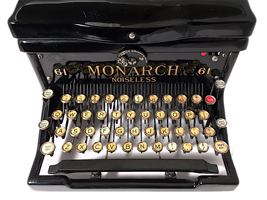 Remington Monarch Noiseless 61 Typewriter X207186 pic 06