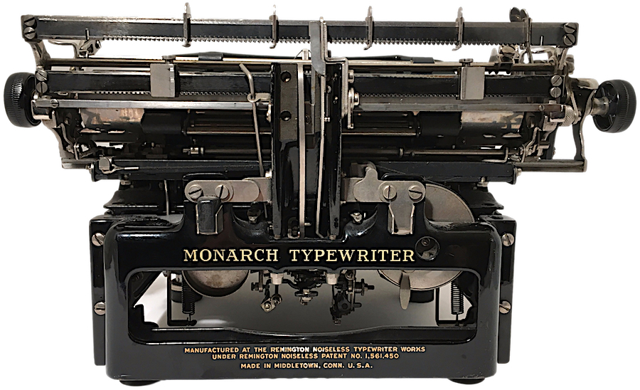 Remington Monarch Noiseless 61 Typewriter X207186 pic 08