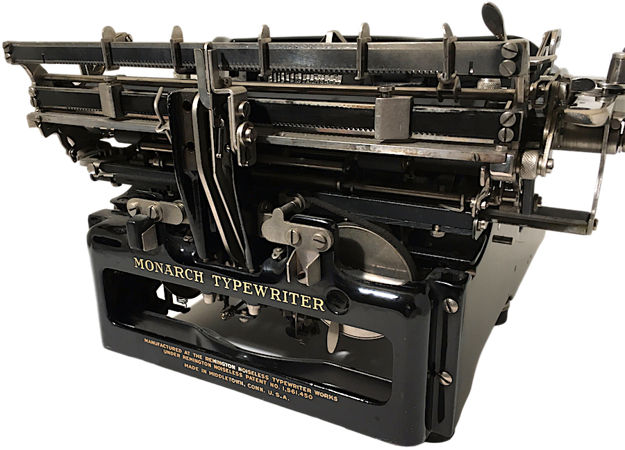 Remington Monarch Noiseless 61 Typewriter X207186 pic 09