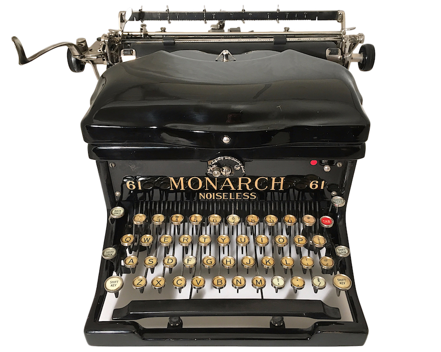 Remington Monarch Noiseless 61 Typewriter X207186